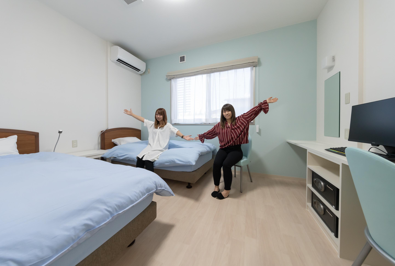水原自動車学校の宿泊施設詳細