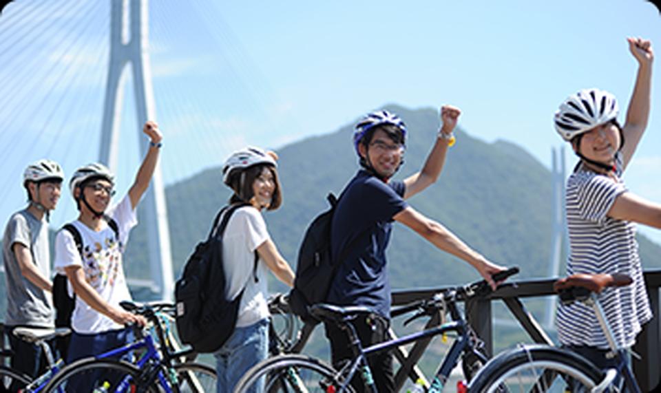 備南自動車学校 しまなみ街道サイクリング