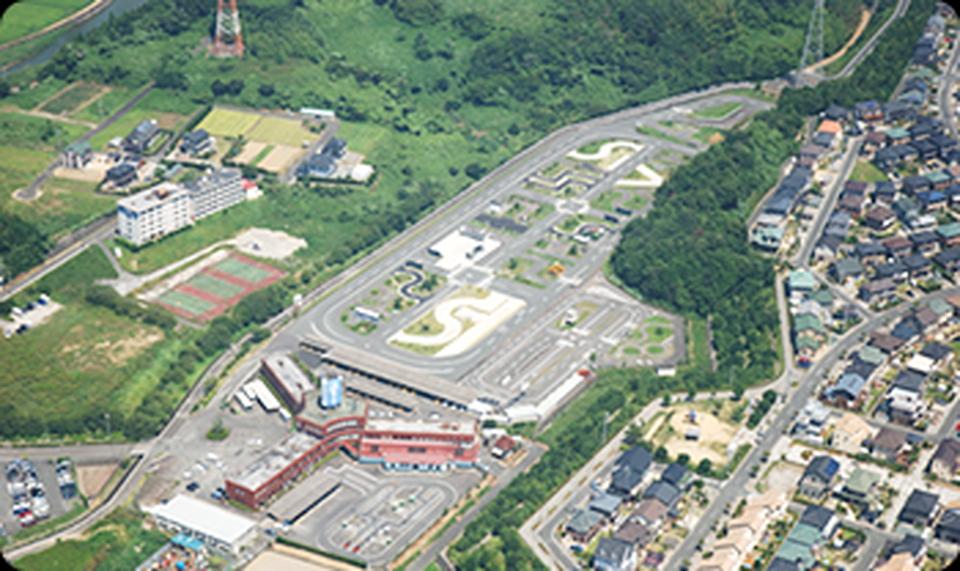 静岡県セイブ自動車学校上空写真